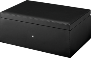 Business Set Montblanc Sammlerbox aus Leder für 12 Schreibgeräte aus Kalbsleder
