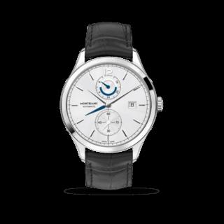 Montblanc Herrenuhr Heritage Chronométrie Dual Time 112540