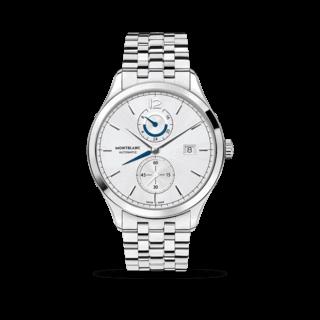 Montblanc Herrenuhr Heritage Chronométrie Dual Time 112648