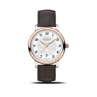 Montblanc Herrenuhr Star Legacy Automatic Date 39mm 117577