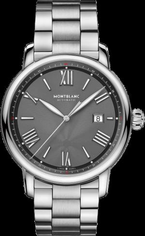 Herrenuhr Montblanc Star Legacy Automatic Date 43mm mit grauem Zifferblatt und Edelstahlarmband
