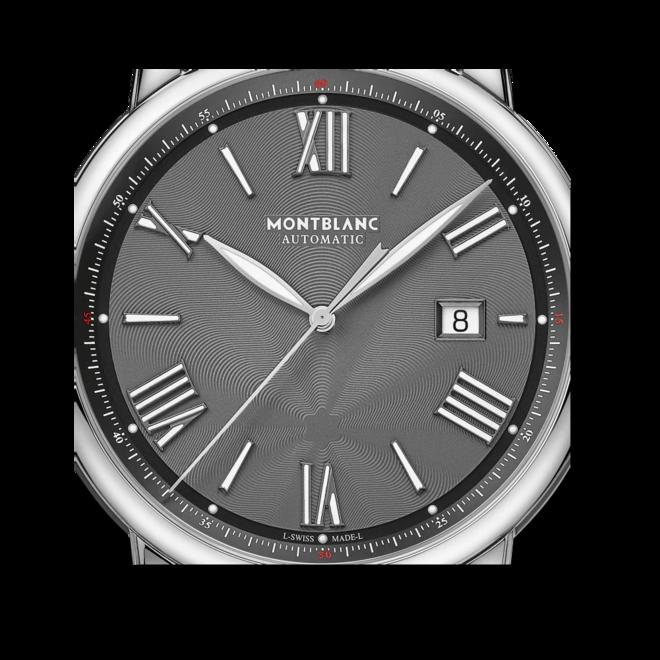Herrenuhr Montblanc Star Legacy Automatic Date 43mm mit grauem Zifferblatt und Edelstahlarmband bei Brogle