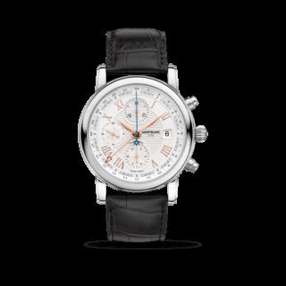 "Montblanc Herrenuhr Star Roman Chronograph UTC ""Carpe Diem"" 113880"