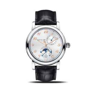 "Montblanc Herrenuhr Star Traditional Twin Moonphase ""Carpe Diem Edition"" 113848"