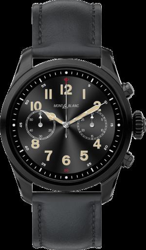 Smartwatch Montblanc Summit 2 mit Kalbsleder-Armband