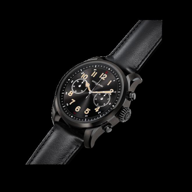 Smartwatch Montblanc Summit 2 mit Kalbsleder-Armband bei Brogle