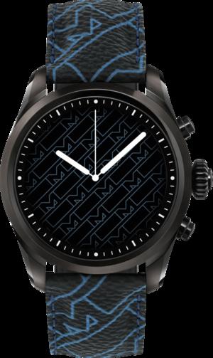 Smartwatch Montblanc Summit 2 mit Kautschukarmband