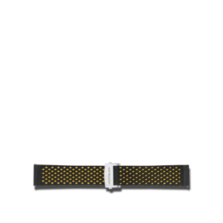 Montblanc Uhren-Armband Summit 2 Kautschukarmband in Gelb 119709