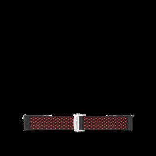 Montblanc Uhren-Armband Summit 2 Kautschukarmband in Rot 119559