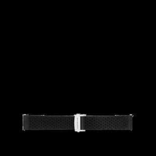 Montblanc Uhren-Armband Summit 2 Kautschukarmband in Schwarz 119436