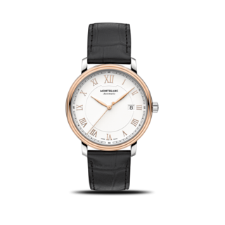 Montblanc Herrenuhr Tradition Date Automatic 114336