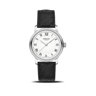 Montblanc Damenuhr Tradition Date Automatic 32mm 124782