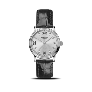 Montblanc Damenuhr Tradition Date Automatic 32mm 127751