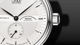 Mühle Glashütte Teutonia II Großdatum Chronometer