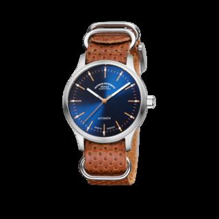 Mühle Glashütte Armbanduhr Panova Blau M1-40-72-LB