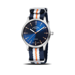 Mühle Glashütte Armbanduhr Panova Blau M1-40-72-NB