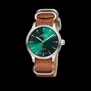 Mühle Glashütte Armbanduhr Panova Grün M1-40-76-LB