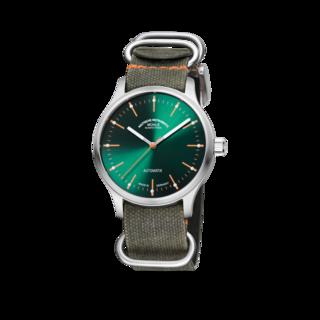 Mühle Glashütte Armbanduhr Panova Grün M1-40-76-NB