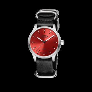 Mühle Glashütte Armbanduhr Panova Rot M1-40-78-LB