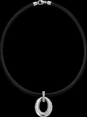 Halskette mit Anhänger noor Exclusive aus 750 Weißgold mit 191 Brillanten (1,09 Karat)