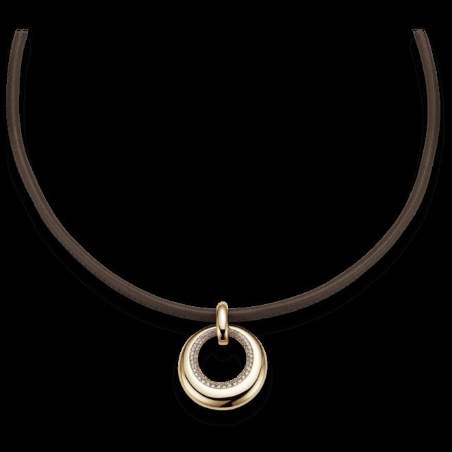 Halskette mit Anhänger noor Exclusive aus 750 Roségold mit 318 Brillanten (0,91 Karat)
