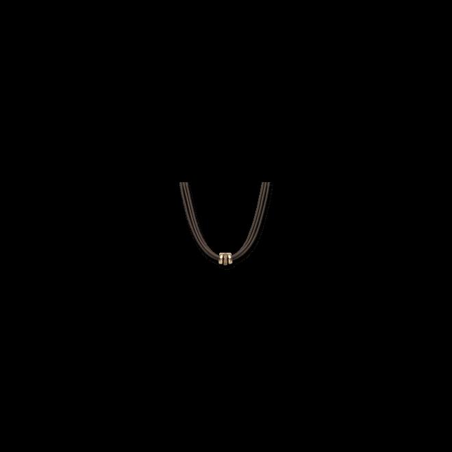 Halskette mit Anhänger noor Exclusive aus 750 Roségold mit 56 Brillanten (0,77 Karat)