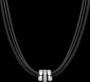 Halskette mit Anhänger noor Exclusive aus 750 Weißgold mit 56 Brillanten (0,77 Karat)