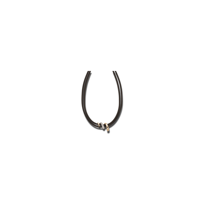 Halskette mit Anhänger noor Exclusive aus 750 Roségold mit 114 Brillanten (1,06 Karat)