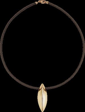 Halskette mit Anhänger noor Exclusive aus 750 Roségold mit 29 Brillanten (0,38 Karat)