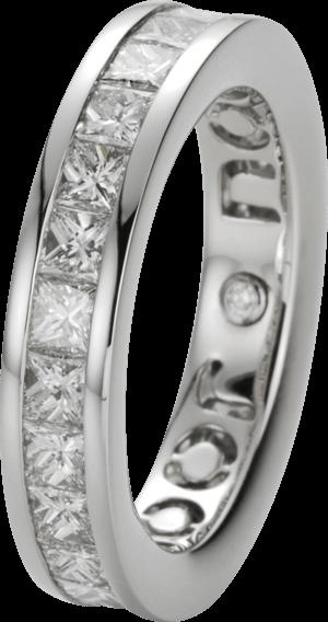 Memoirering noor Exclusive aus 750 Weißgold mit 26 Diamanten (3,14 Karat)