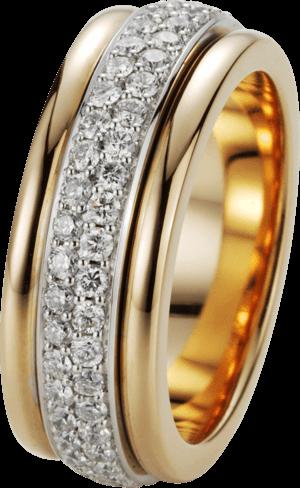 Ring noor Exclusive aus 750 Roségold und Weißgold