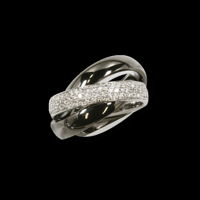 Ring noor Exclusive aus 750 Weißgold