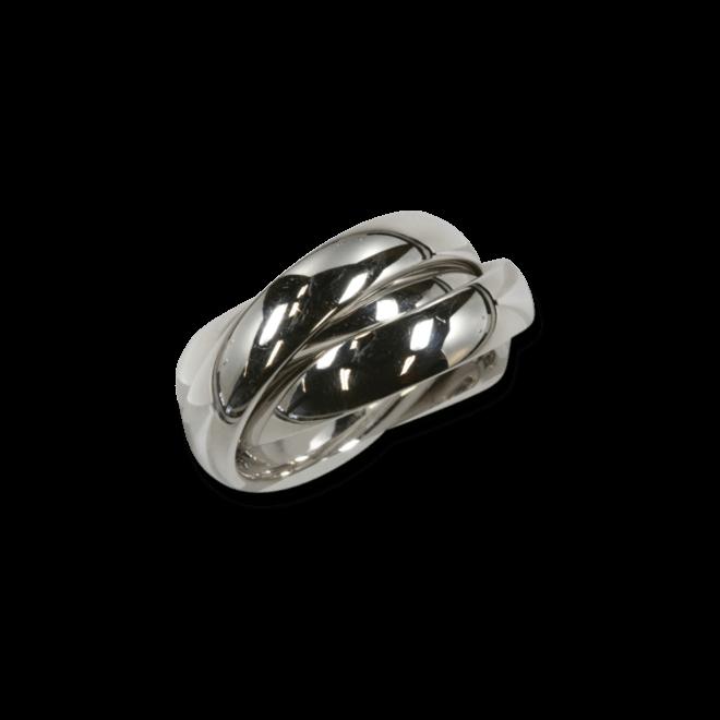 Ring noor Exclusive aus 750 Weißgold und Roségold
