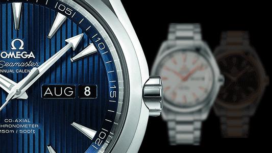 Omega Seamaster Aqua Terra 150M Co-Axial Annual Calendar 43mm