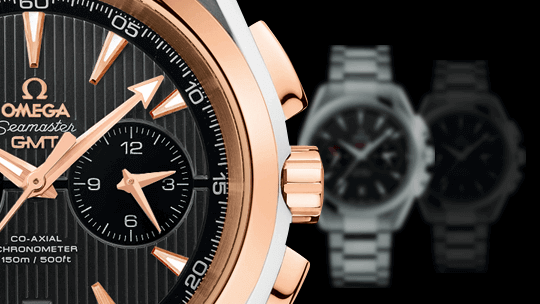 Omega Seamaster Aqua Terra 150M Co-Axial GMT Chronograph 43mm