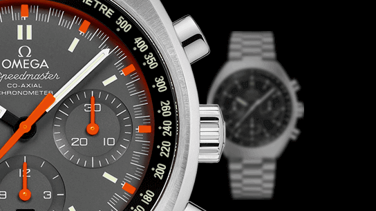 Omega Speedmaster Mark II Co-Axial Chronograph 42.4x46.2mm