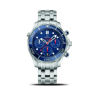 Omega Herrenuhr Seamaster Diver 300M Co-Axial Chronograph 44mm 212.30.44.50.03.001