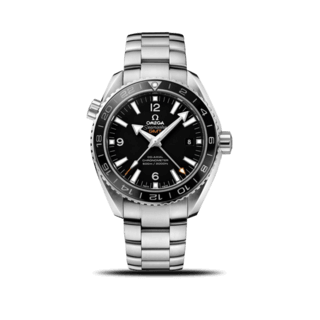 Omega Herrenuhr Seamaster Planet Ocean 600M Co-Axial GMT 43,5mm 232.30.44.22.01.001