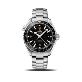 Omega Herrenuhr Seamaster Planet Ocean 600M Co-Axial GMT 43,5mm 232.30.44.22.01.002