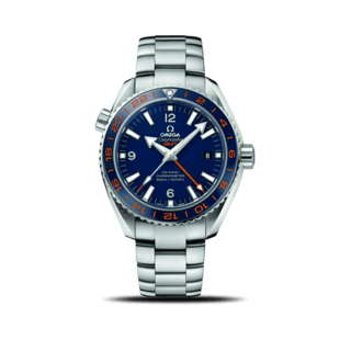 "Omega Herrenuhr Seamaster Planet Ocean 600M ""Good Planet"" Co-Axial GMT 43,5mm 232.30.44.22.03.001"