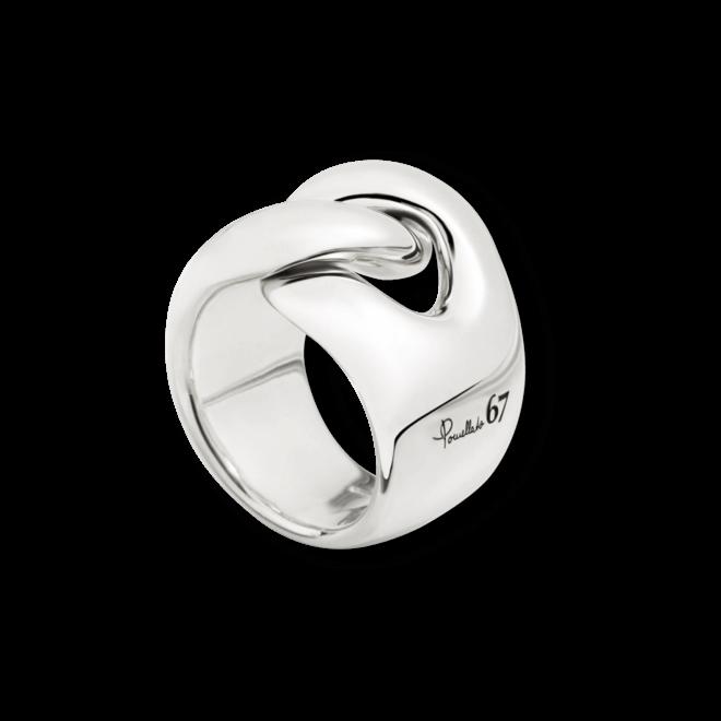 Ring Pomellato Gourmette aus 925 Sterlingsilber