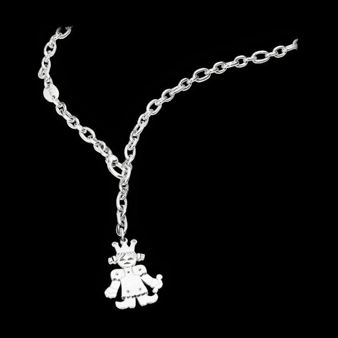 Halskette mit Anhänger Pomellato Königin aus 925 Sterlingsilber