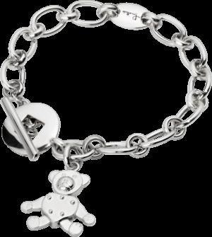 Armband mit Anhänger Pomellato Orso aus 925 Sterlingsilber