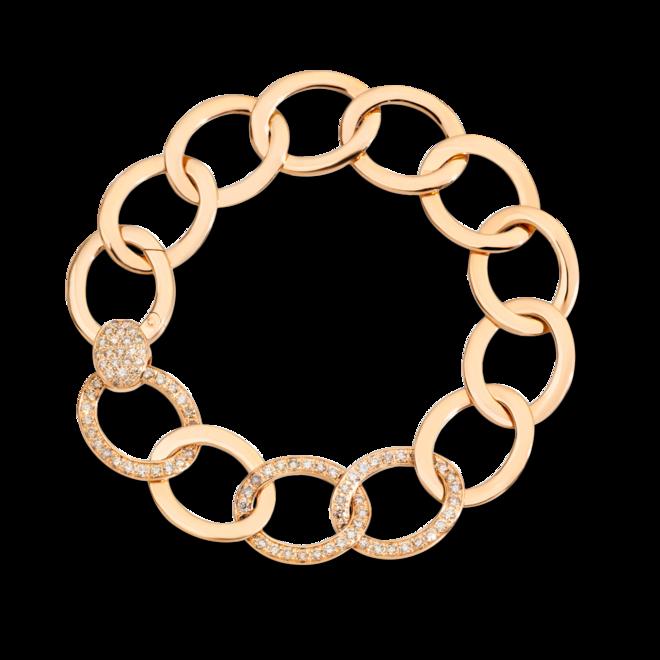 Armband Pomellato Brera aus 750 Roségold mit 95 Diamanten (1,3 Karat) Größe 17 cm bei Brogle