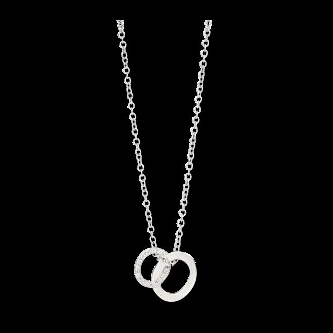 Halskette mit Anhänger Pomellato Brera aus 750 Weißgold mit 26 Diamanten (0,1 Karat) bei Brogle