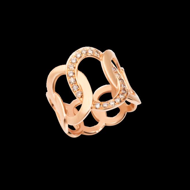 Ring Pomellato Brera aus 750 Roségold mit 20 Diamanten (0,3 Karat) bei Brogle