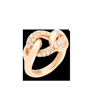 Pomellato Ring Catene Band PAC1011-O7000-DB000