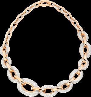 Halskette Pomellato Catene aus 750 Roségold mit 615 Brillanten (9,5 Karat)