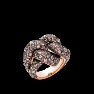 Pomellato Ring Catene PAB3060-OADRK-DBR00