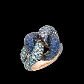 Pomellato Ring Catene PAB6061-OADRK-0TNZF